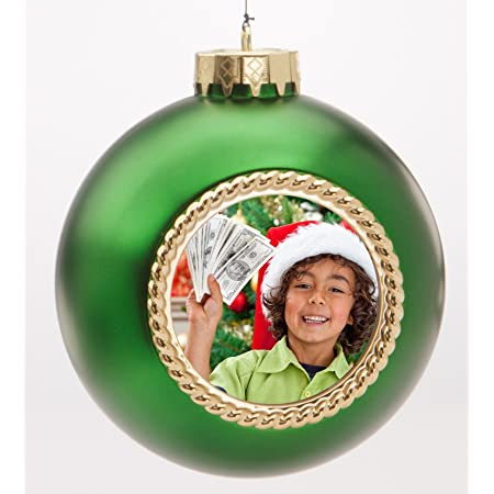 Amazon Com Holiday Voices 20 Second Recordable Ornaments Keepsake Quality Green Home Kitchen