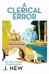 A Clerical Error (The Yellow Cottage Vintage Mysteries Book 3) Kindle Edition