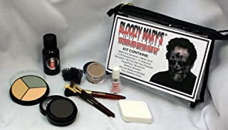 Decayed & Rotted Skin Special Effects Makeup Kit By Bloody Mary - Halloween Costume SFX Makeup - FX Foundation & Blood, Ey...