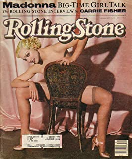 Rolling Stone Magazine June 13, 1991 Issue 606 Madonna Cover