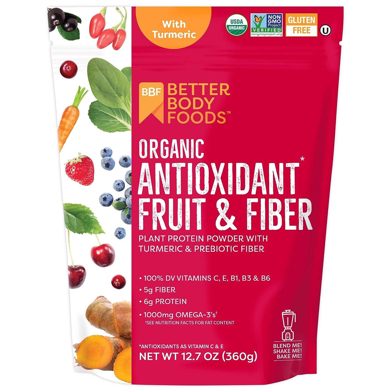 BetterBody Foods Organic Antioxidant Fruit and Fiber Superfood Blend, 12.7 Ounce