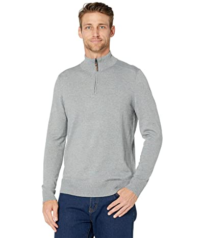 Smartwool Sparwood 1/2 Zip Sweater (Lunar Gray Donegal) Men