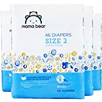 144-Count Mama Bear Diapers Size 2, Bears Print (4 packs of 46)