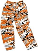 Zubaz Men's Officially Licensed NCAA Camo & Zebra Print Team Logo Casual Active Pants