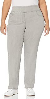 RUBY RD. Women's Plus-Size Pull-on Extra Strech Denim Jean
