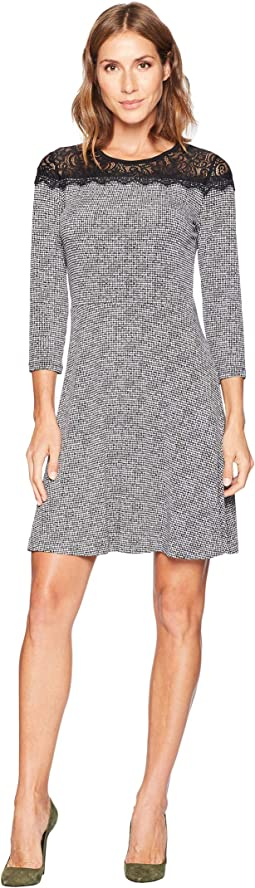 Mini Tweed Lace Dress
