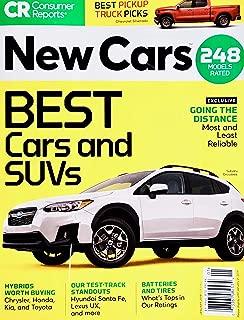 Consumer Reports Magazine New Cars January 2019 (Yellow)