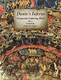 Dante's Inferno The Divine Comedy: Greyscale Coloring Book