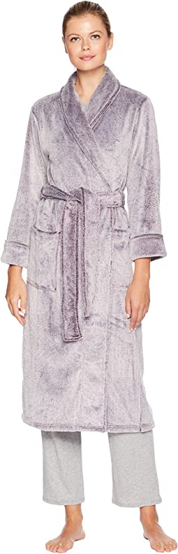 Frosted Cashmere Fleece Robe