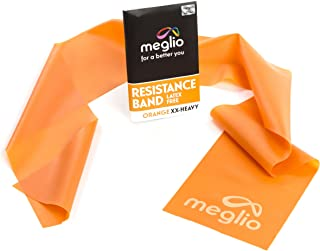 BRANDISMO esistance Bands Latex Free - Exercise Bands for Physiotherapy, Strength Training & Fitness Workouts, Yoga