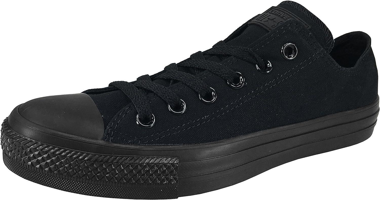 Kongrönera Chuck Taylor All Star Low Ox skor svart svart svart M5039 M9.5  ny sadie