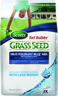 Scotts 18196 Turf Builder Heat Tolerant Bluegrass Seed Mix Bag, 3-Pound (Older Model)