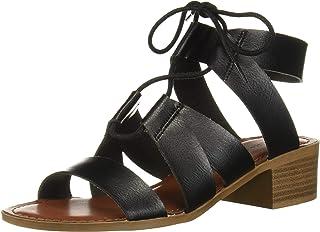 Rock & Candy Women's GILLEE Sandal, Black, 8 Medium US