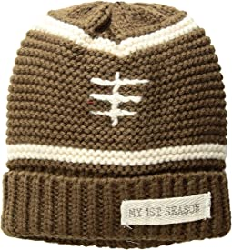 Football Knitted Beanie Hat (Infant)