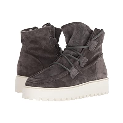 Kennel & Schmenger Hike Faux Fur Boot (Anthracite Suede) Women