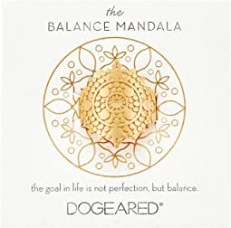 Dogeared - Balance Mandala Center Circle Ring