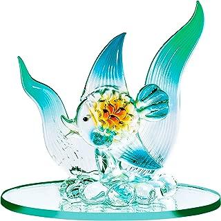 The Paragon Blown Glass Fish - Miniature Fish Figurine Collectible, Handmade Ornament, Lampwork Figure