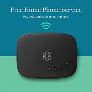 ooma Telo Air 2 Free Home Phone Service with WiFi and Bluetooth Connectivity