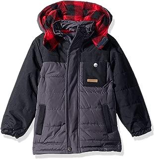 Boys' Buffalo Check Puffer Jacket