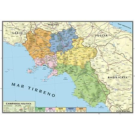 Mappa Puglia E Basilicata.Carta Geografica Murale Regionale Puglia Basilicata 100x140 Bifacciale Fisica E Politica Amazon It Cancelleria E Prodotti Per Ufficio