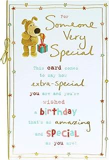 Someone Special Birthday Card - Friend Birthday Card - Birthday Card for Her - Cute Boofle Design