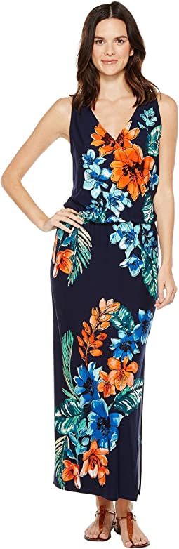 Celena Blooms Sleeveless Maxi Dress