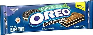 Oreo Mint Big Crunch Chocolate Candy Bar, 10.5 Oz