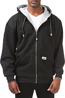 Men's Full Zip Reversible Fleece and Thermal Hoodie