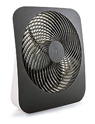 Treva 10-Inch Portable Desktop Air Circulation Battery Fan