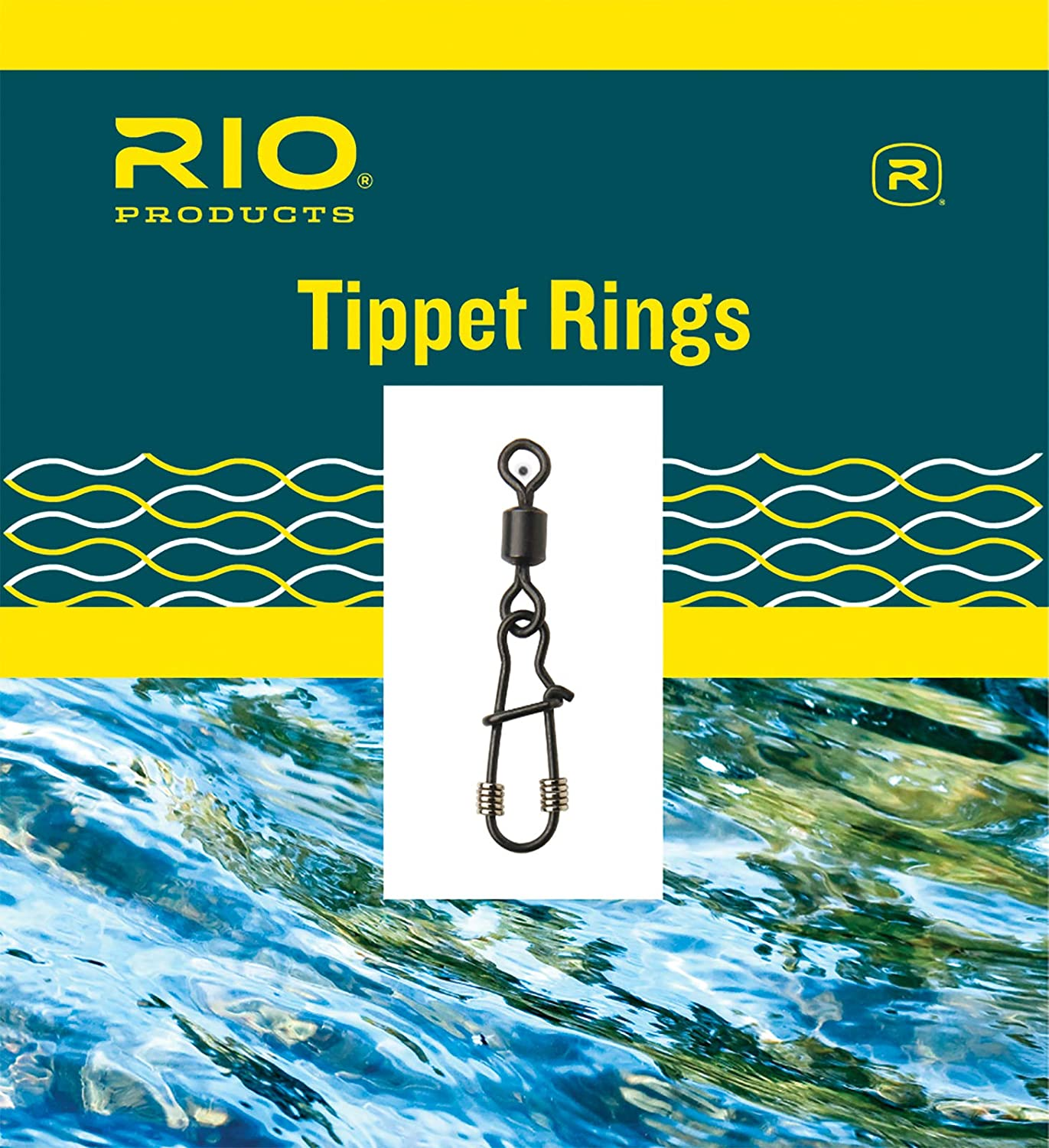 Rio Fly unisex Fishing Head Tippet Ring Size Large Tackle Pack Limited time cheap sale Steel