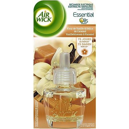 Air Wick Recharge électrique, fleurs de vanille & délice de caramel - Le flacon de 19ml