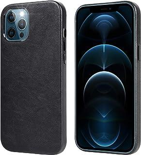 Migeec Funda de Cuero para iPhone 12 Pro MAX Estuche rígido Retro Delgado Ultra Suave para iPhone 12 Pro MAX 6,7 Pulgadas...