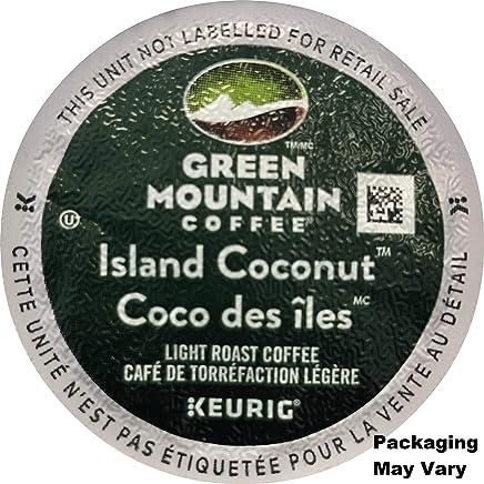 Green Mountain Coffee Roasters Island Coconut, Single Serve Coffee K-Cup Pod, Flavored Coffee, 24