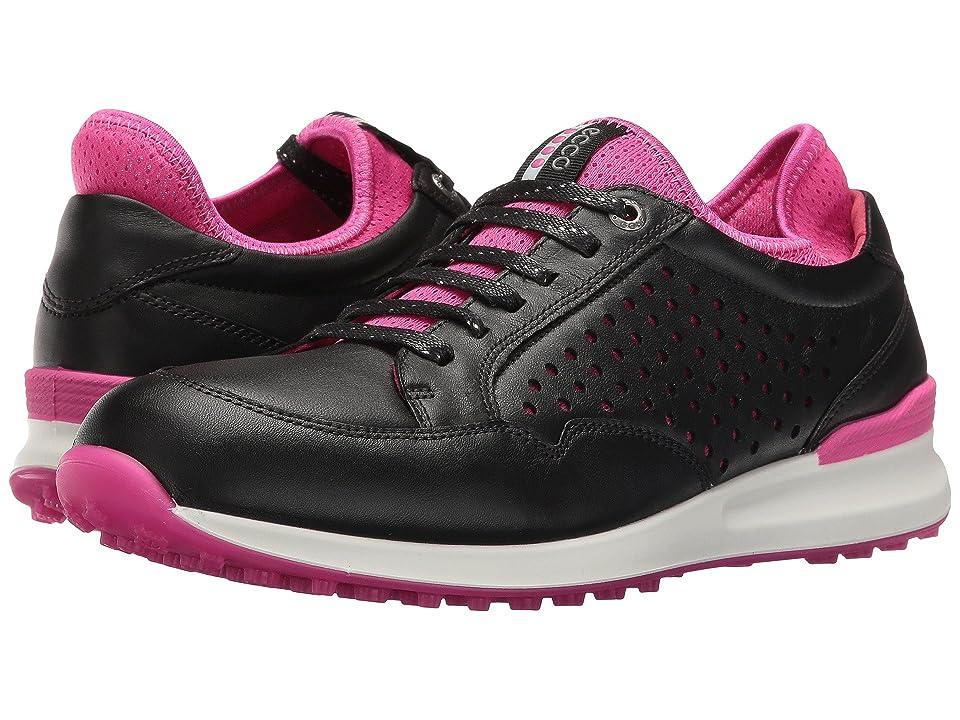 ECCO Golf Speed Hybrid (Black/Raspberry) Women