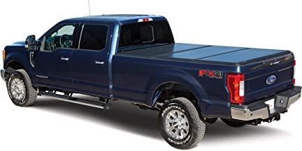 LEER Trilogy Hard Trifold Truck Bed Tonneau Cover, 2014-2018 Chevy/GMC Silverado/Sierra 1500 8' with Track