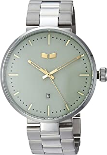 Vestal Women's 'Roosevelt Metal' Quartz Stainless Steel Dress Watch, Color:Silver-Toned (Model: RS42M10.5GNX)