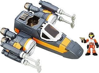 Playskool Heroes Star Wars Galactic Heroes Poe's X-Wing Fighter