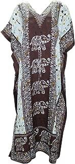 Kaftan Tunic Kimono Dress Ladies Summer Women Evening Maxi Party One Size