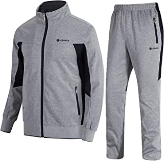Men's Tracksuit Athletic Sports Casual Full Zip Sweatsuit