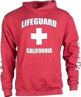 California Lifeguard | Red Cali Fleece Hoody Sweatshirt Hoodie Sweater Men Women