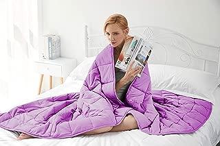 Gsleeper Weighted Blanket (Purple, 48