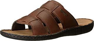 Hush Puppies Men's Sedan Mule Leather Sandals
