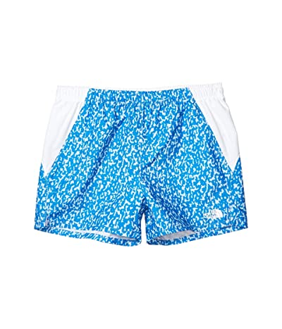 The North Face Kids Class V Water Shorts (Little Kids/Big Kids) (Clear Lake Blue Flashito Print) Girl