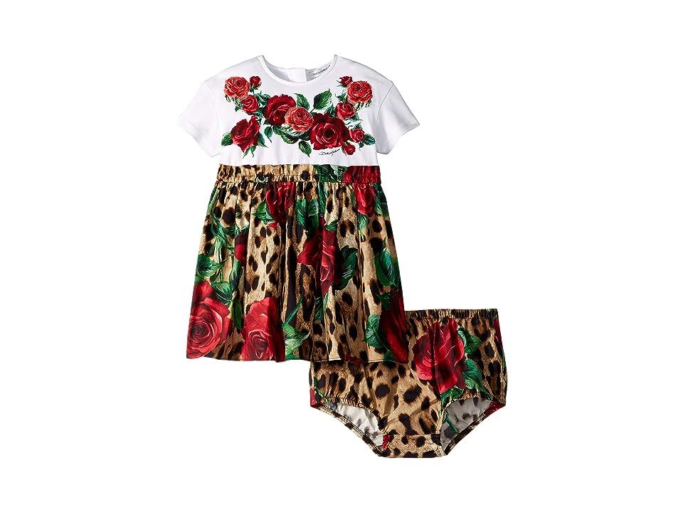 Dolce & Gabbana Kids DG Dress (Infant) (Pink Multi) Girl