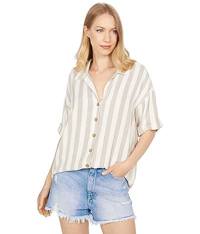 Rip Curl Ashore Stripe Tunic Shirt Women