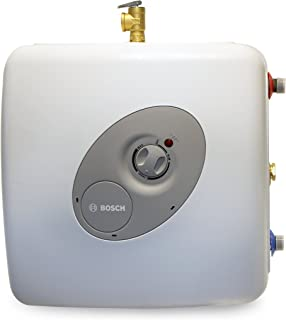 Bosch Electric Mini-Tank Water Heater Tronic 3000 T 7-Gallon (ES8) - Eliminate Time for Hot Water - Shelf, Wall or Floor Mounted