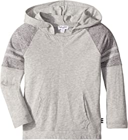 Raglan Long Sleeve Hooded T-Shirt (Toddler)