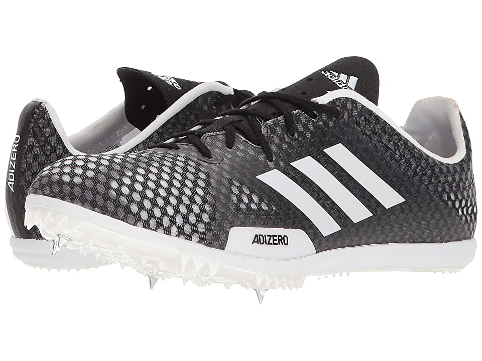 Image of adidas Running adiZero Ambition 4 (Core Black/Footwear White/Hi-Res Orange) Men's Running Shoes