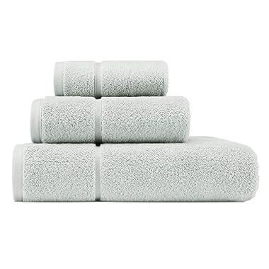 Vera Wang Modern Lux Towel Set, 3 Piece, Mint