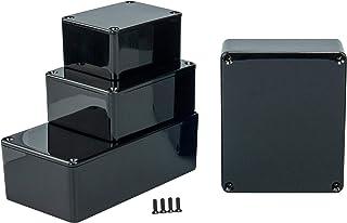exterior. 49 x 27 x 14mm Caja de plastico montajes electronicos o electricos,